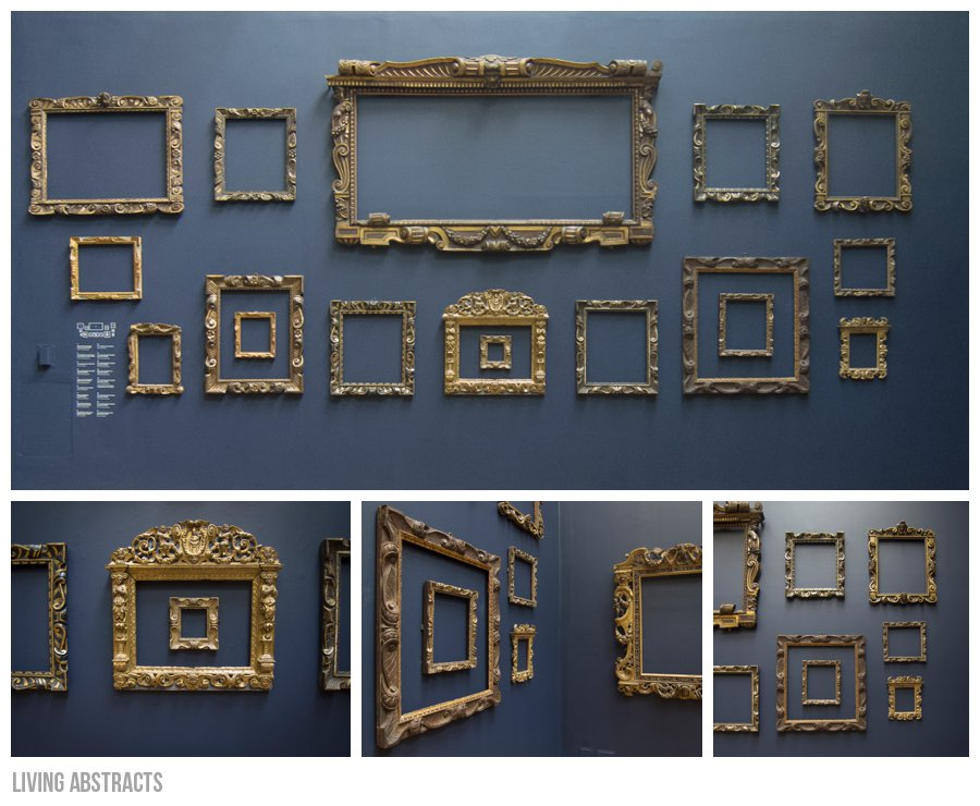 National Gallery Sansovino frames from Venice
