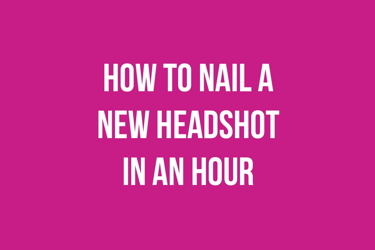How to take a new headshot for free