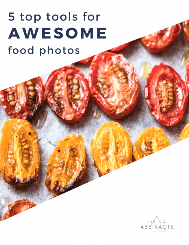 Food photography top 5 tools for awesome food photos