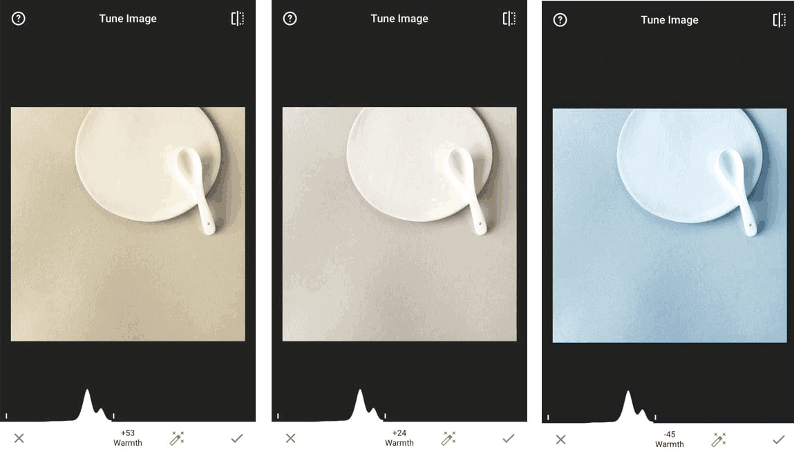 How to change your white when it looks orange or blue using only an Instagram app.