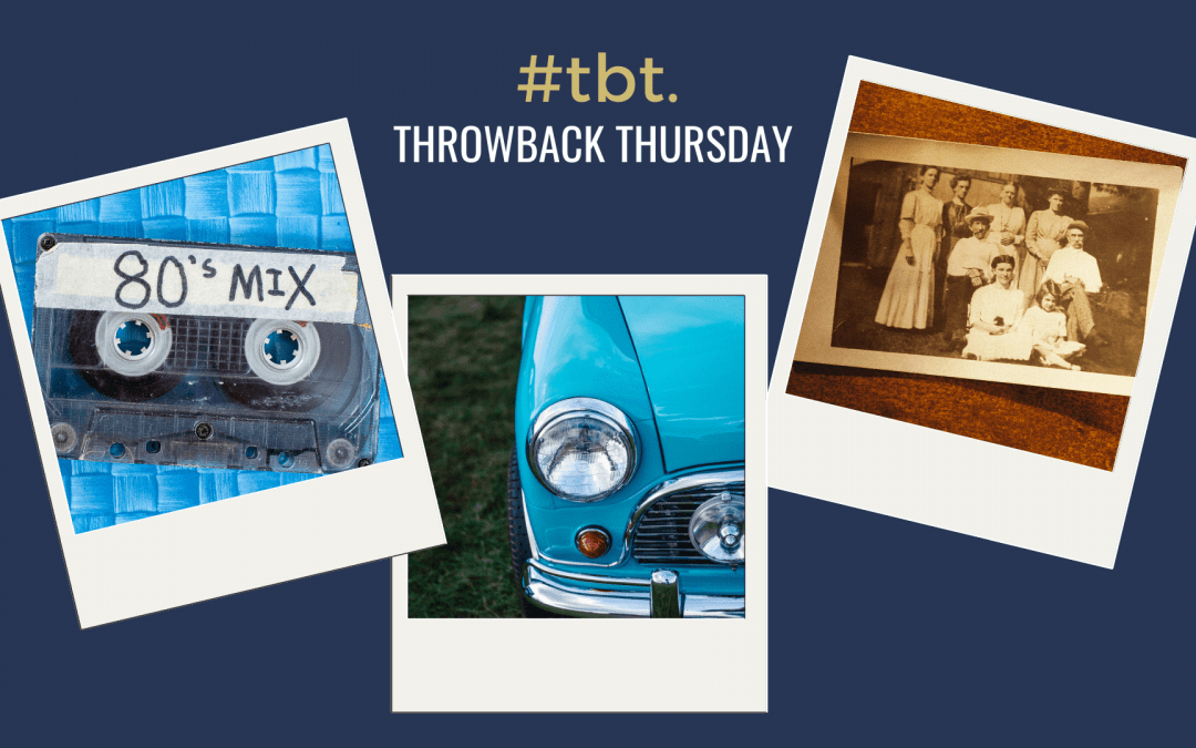 What does TBT mean on Instagram and Twitter