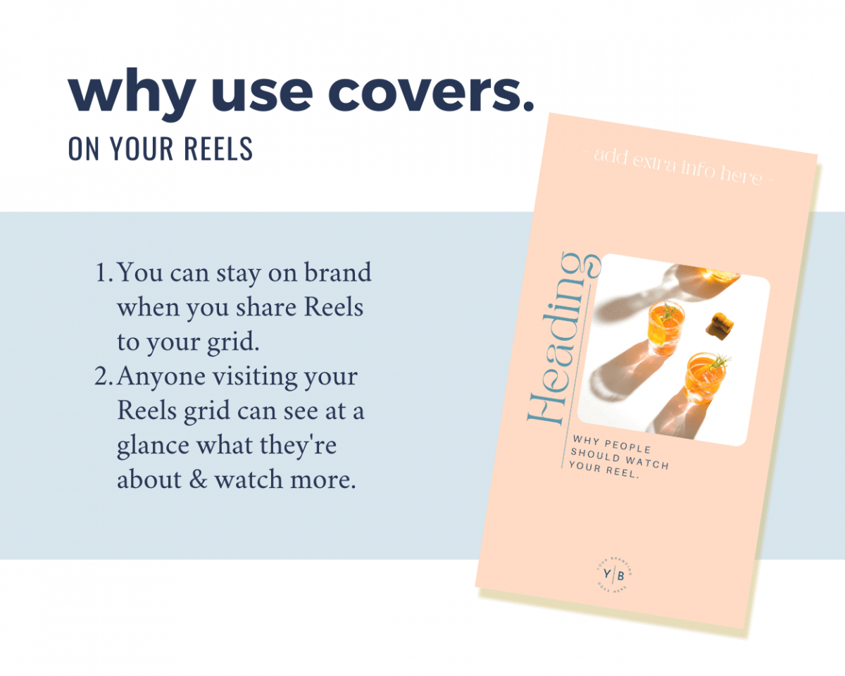Why you should use covers on your Instagram Reels - to maximise views!